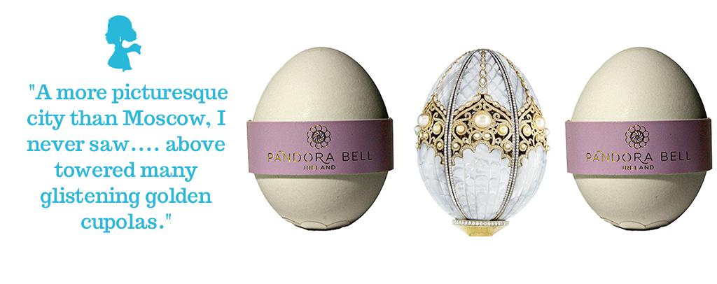 Real Eggshell Faberge